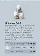 Shimmer paint