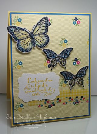 Yellowbluebutterflies
